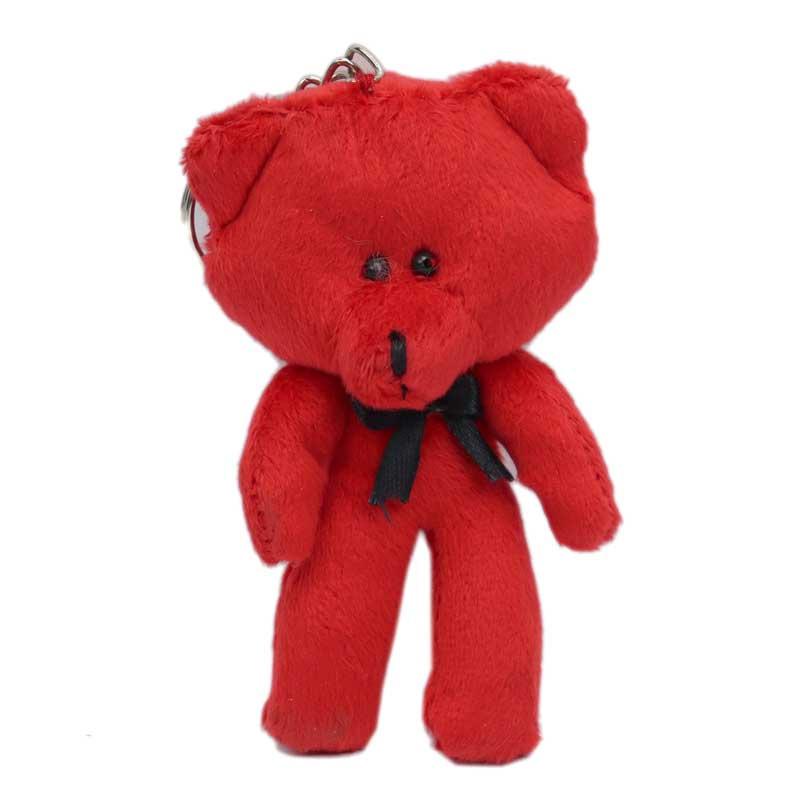 آویز و جاکلیدی خرس قرمز