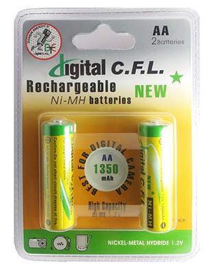 باطری قلمی شارژی CFL 1350