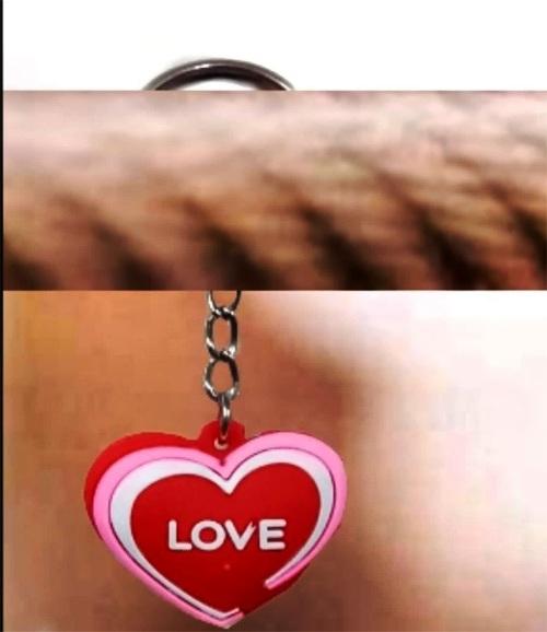 آویز و جاکلیدی قلب