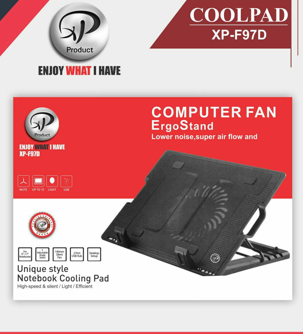 کول پد لپ تاپ اکس پی XP-F97D