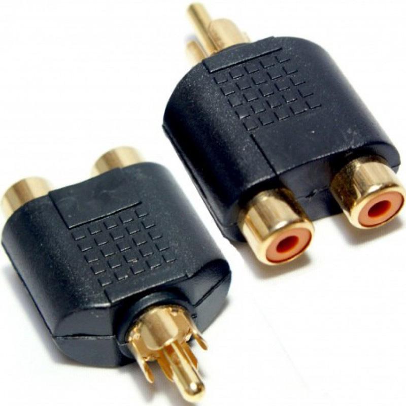 تبدیل دو مادگی به نری AV(فیش تبدیل دوبه یک RCA)