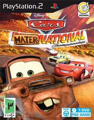 Cars Mater National Championship PS2