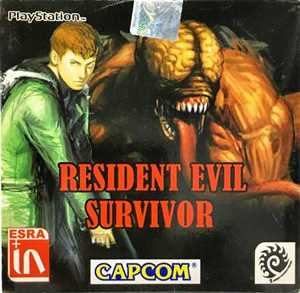 RESIDENT EVIL SURVIVOR  ps1