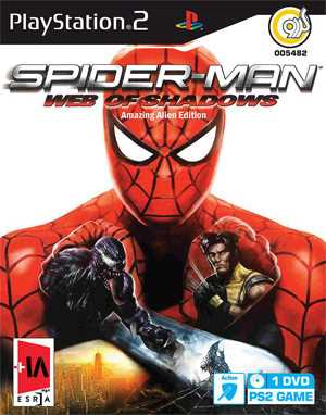 Spider-Man Web Of Shadows PS2